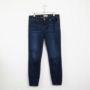 Madewell dark wash Skinny Jeans (Lakeshore Wash)